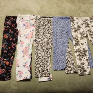 Lot of 5 Old Navy stretch pants